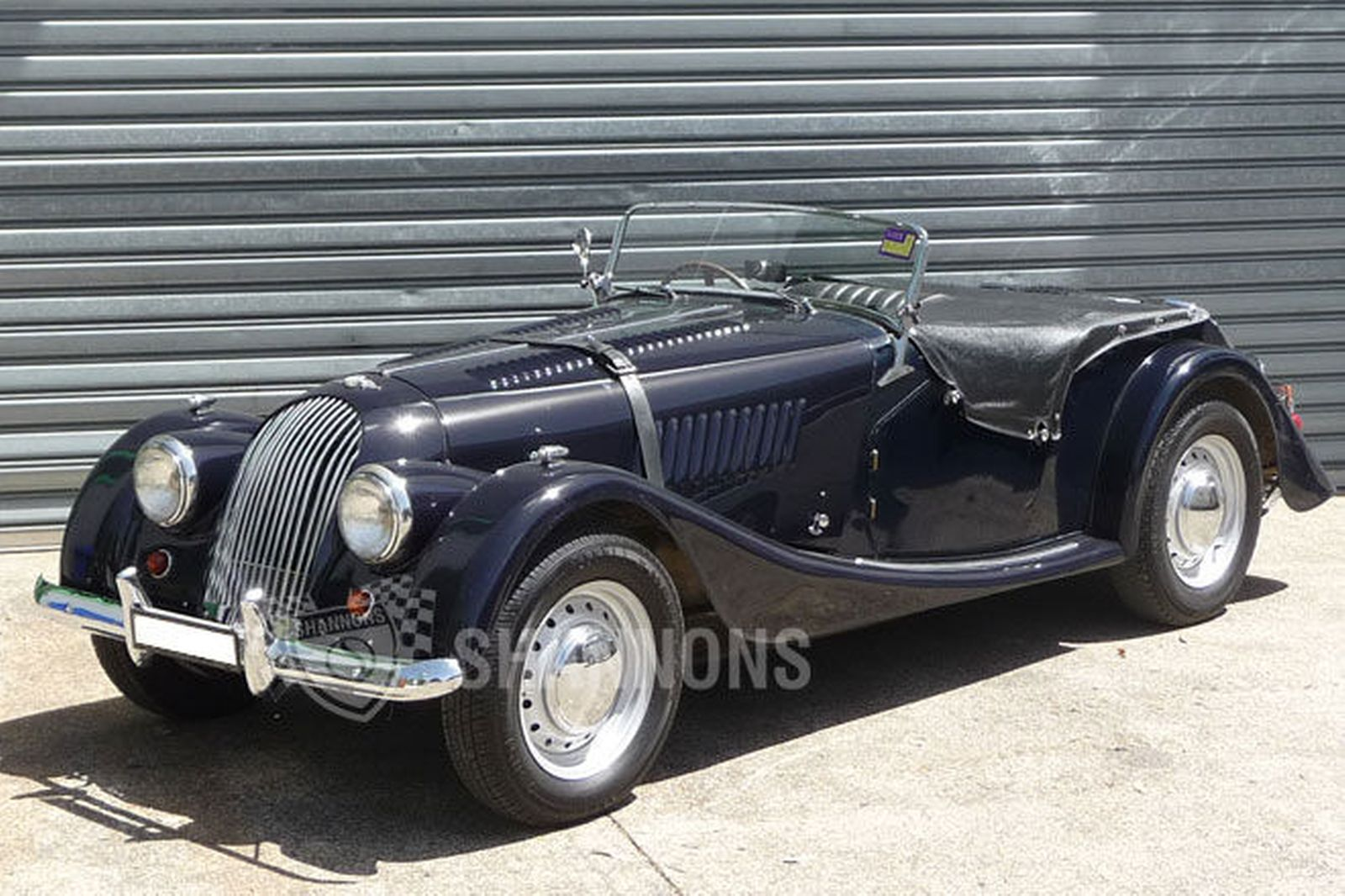 1955 Morgan Plus 4 #21