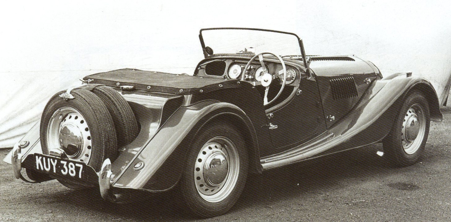 1955 Morgan Plus 4 #20
