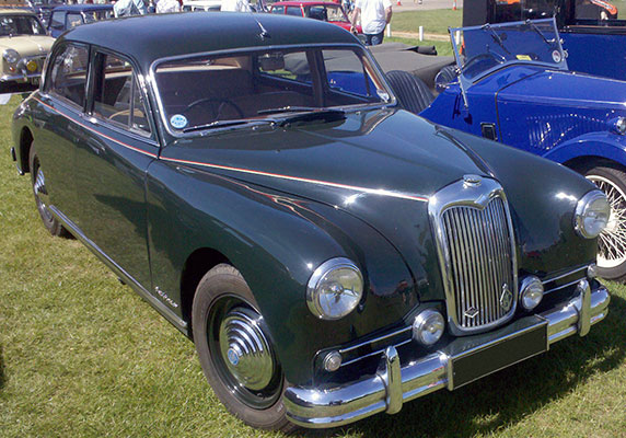 1955 Riley Pathfinder #16
