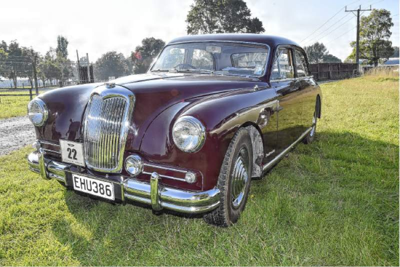 1955 Riley Pathfinder #18