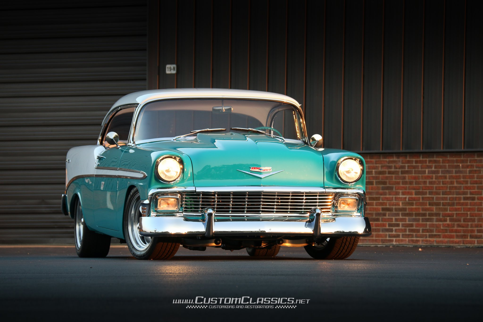 1956 Chevrolet Bel Air #20