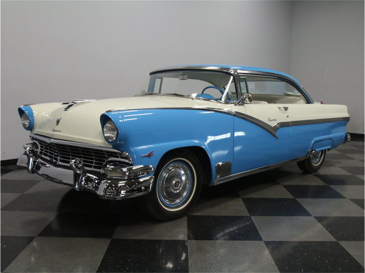 1956 ford fairlane photos informations articles. Black Bedroom Furniture Sets. Home Design Ideas