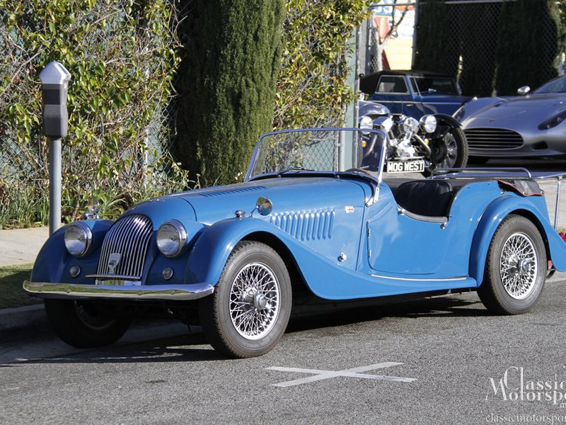 1956 Morgan Plus 4 #21