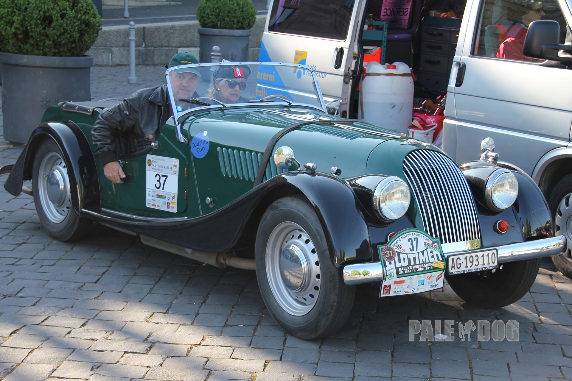 1956 Morgan Plus 4 #19