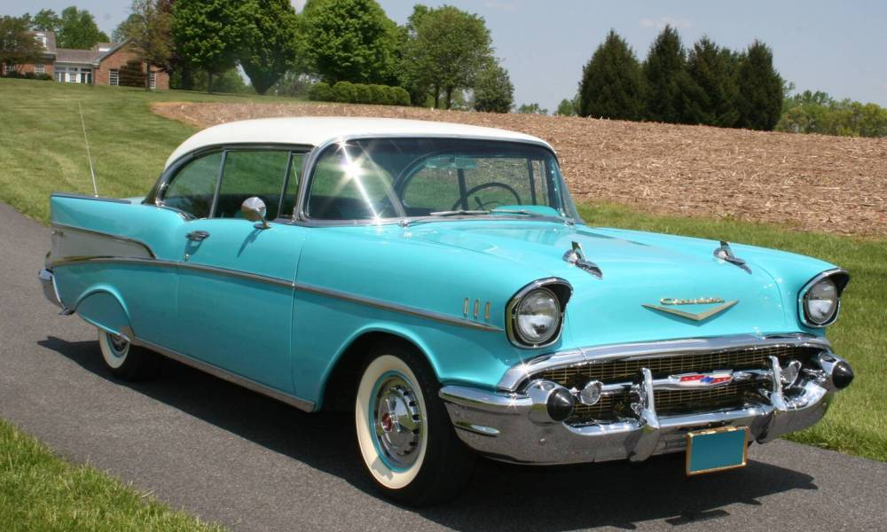 1957 Chevrolet Bel Air Photos Informations Articles Bestcarmag