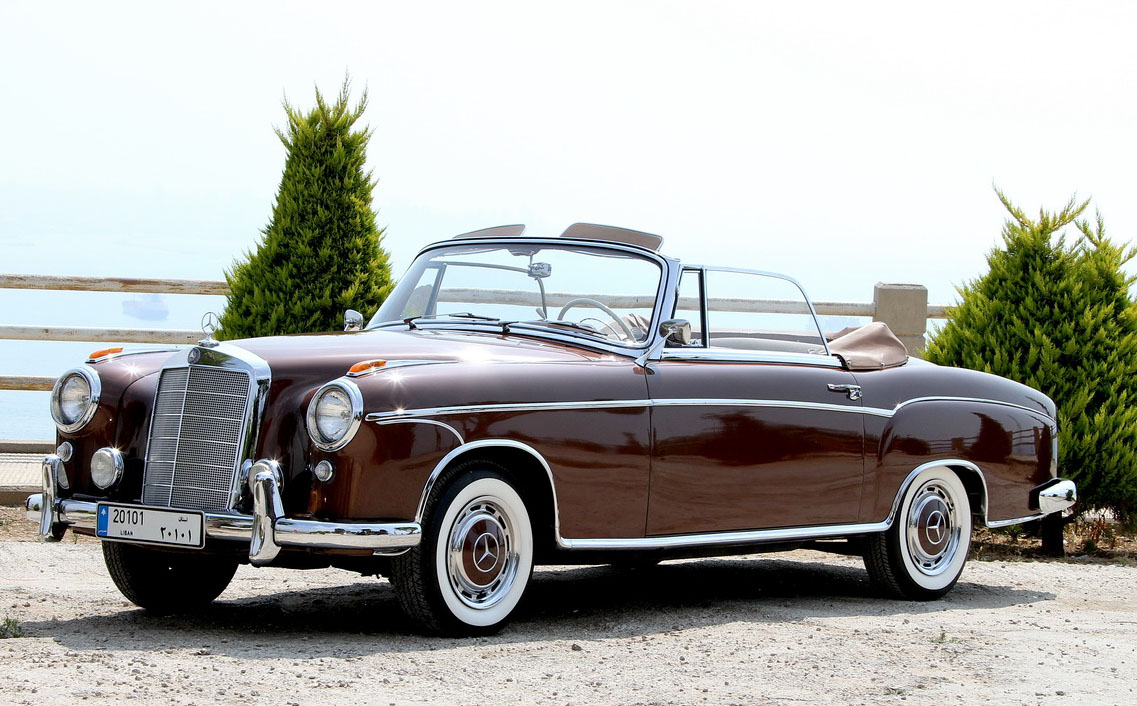 1957 mercedes benz 220 photos informations articles. Black Bedroom Furniture Sets. Home Design Ideas