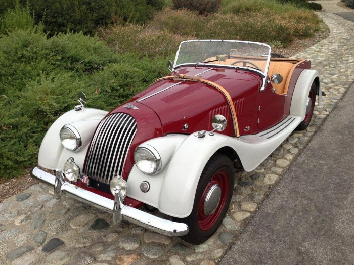 1957 Morgan Plus 4 #23