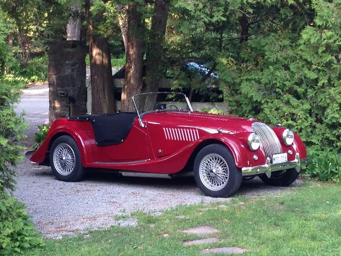 1957 Morgan Plus 4 #21