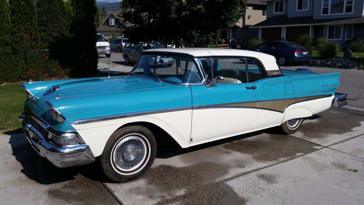 1958 Ford Fairlane Photos Informations Articles 1950s Bumper 23