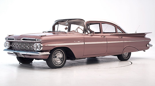 1959 Chevrolet Bel Air #20