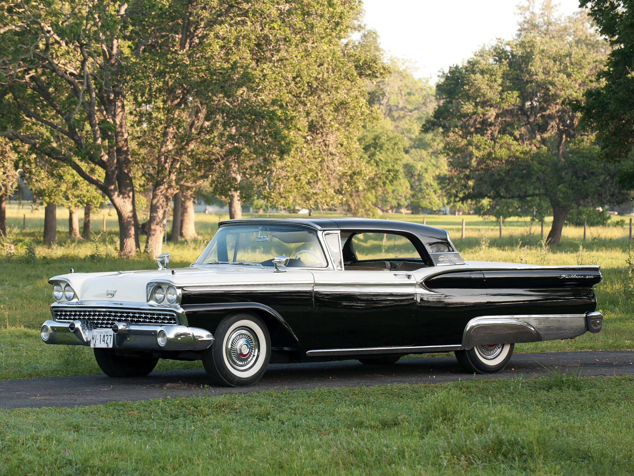1959 Ford Fairlane Photos Informations Articles Wiring Diagrams Of V8 Thunderbird 23