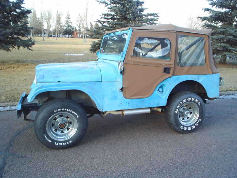 1960 Jeep CJ5 Photos Informations Articles