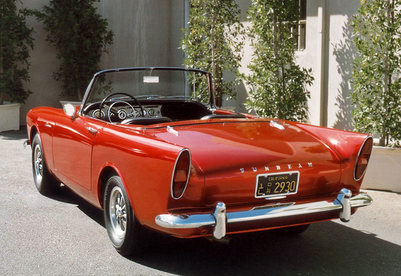1960 Sunbeam Alpine #18