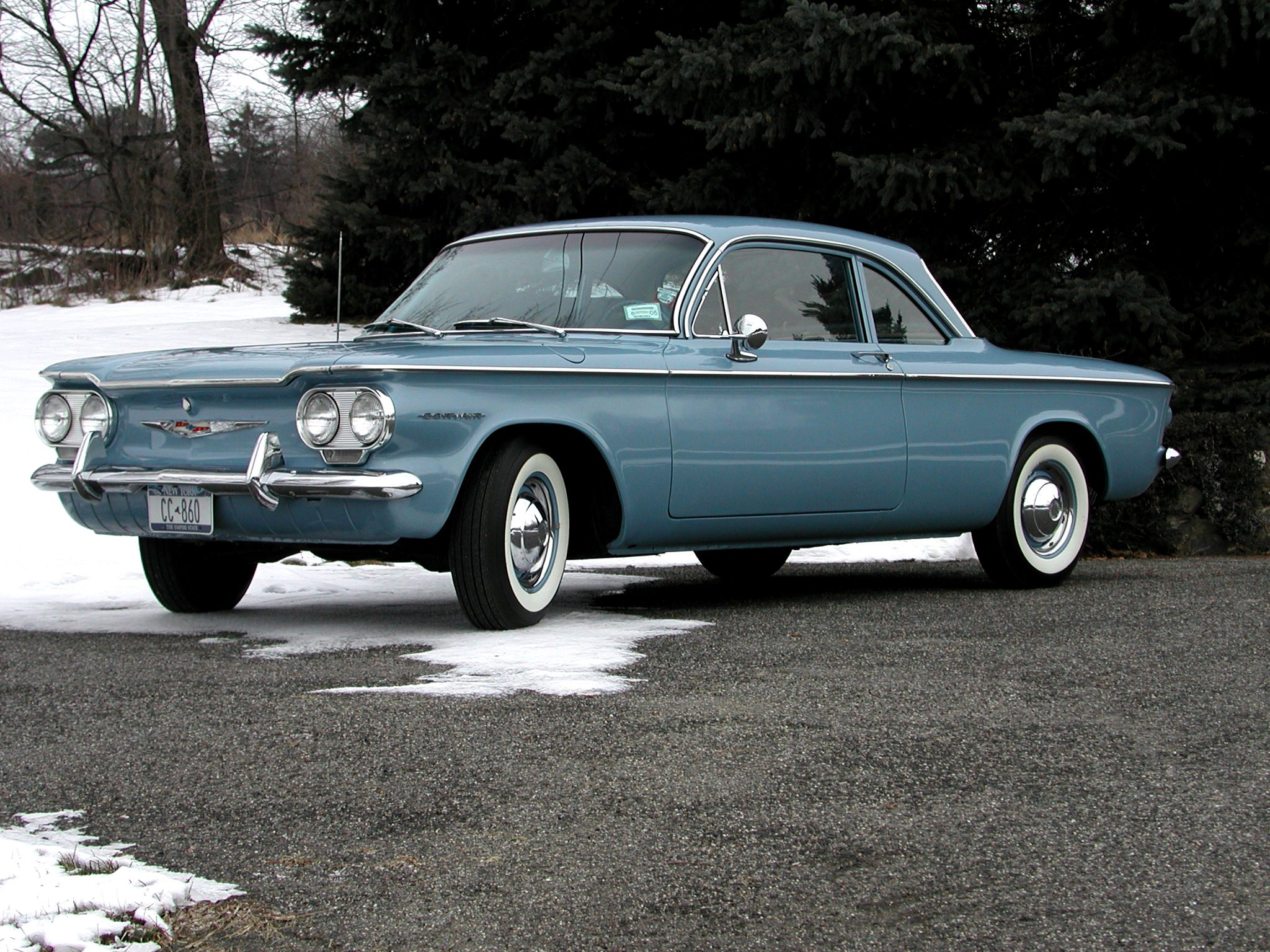 1961 Chevrolet Corvair Photos Informations Articles Wiring Diagrams Of 1964 Greenbrier 20