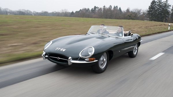 1961 Jaguar E-Type #20