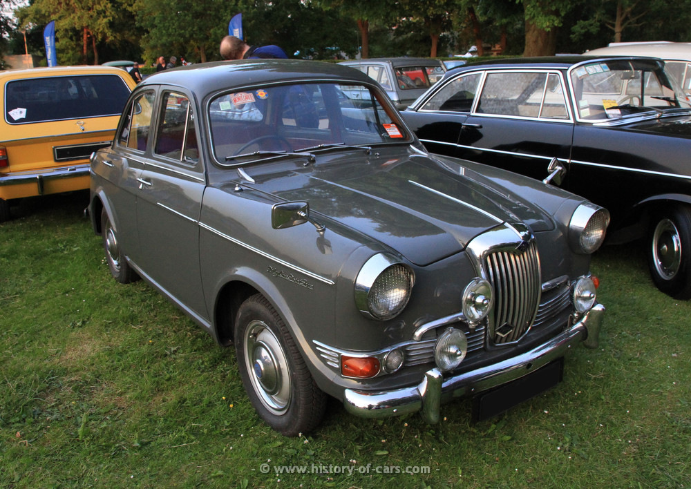 1961 Riley One-Point-Five #22