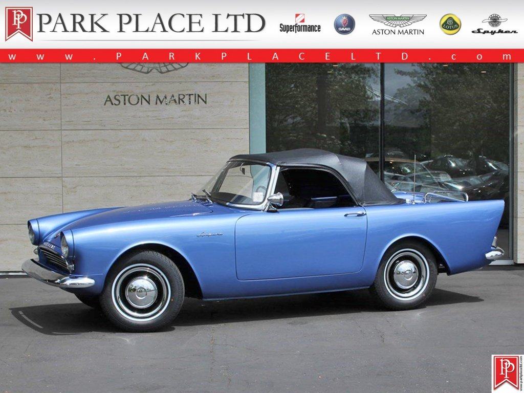 1962 Sunbeam Alpine #28