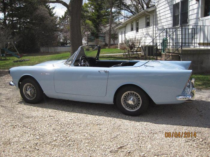 1962 Sunbeam Alpine #27