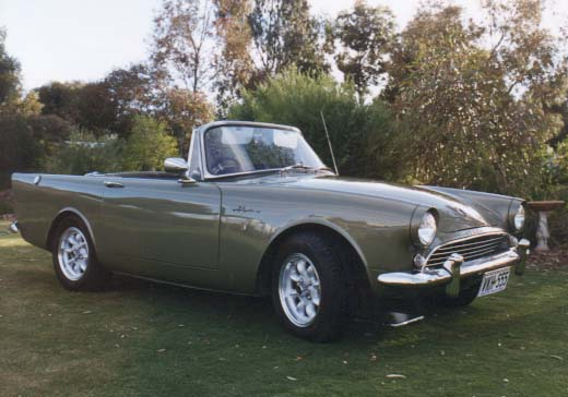 1963 Sunbeam Alpine #16