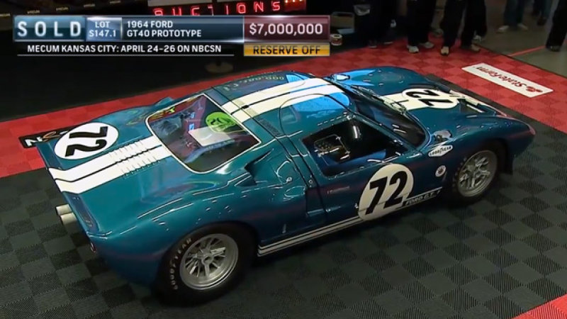 1964 Ford GT 40 #17