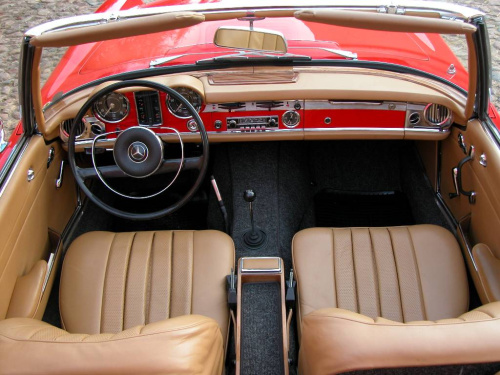 1965 Mercedes-Benz SL #17