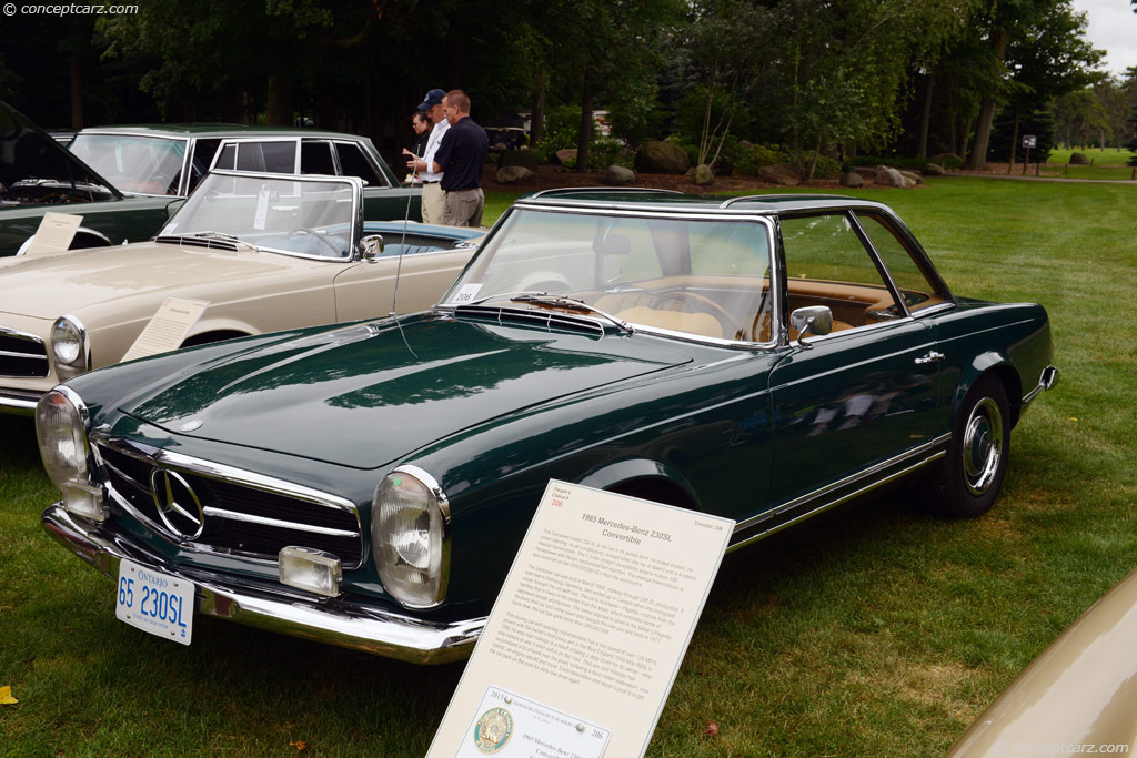 1965 Mercedes-Benz SL #18