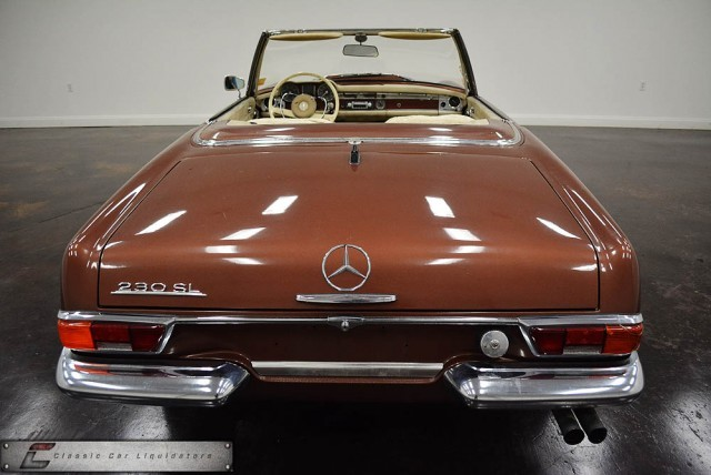 1965 Mercedes-Benz SL #16