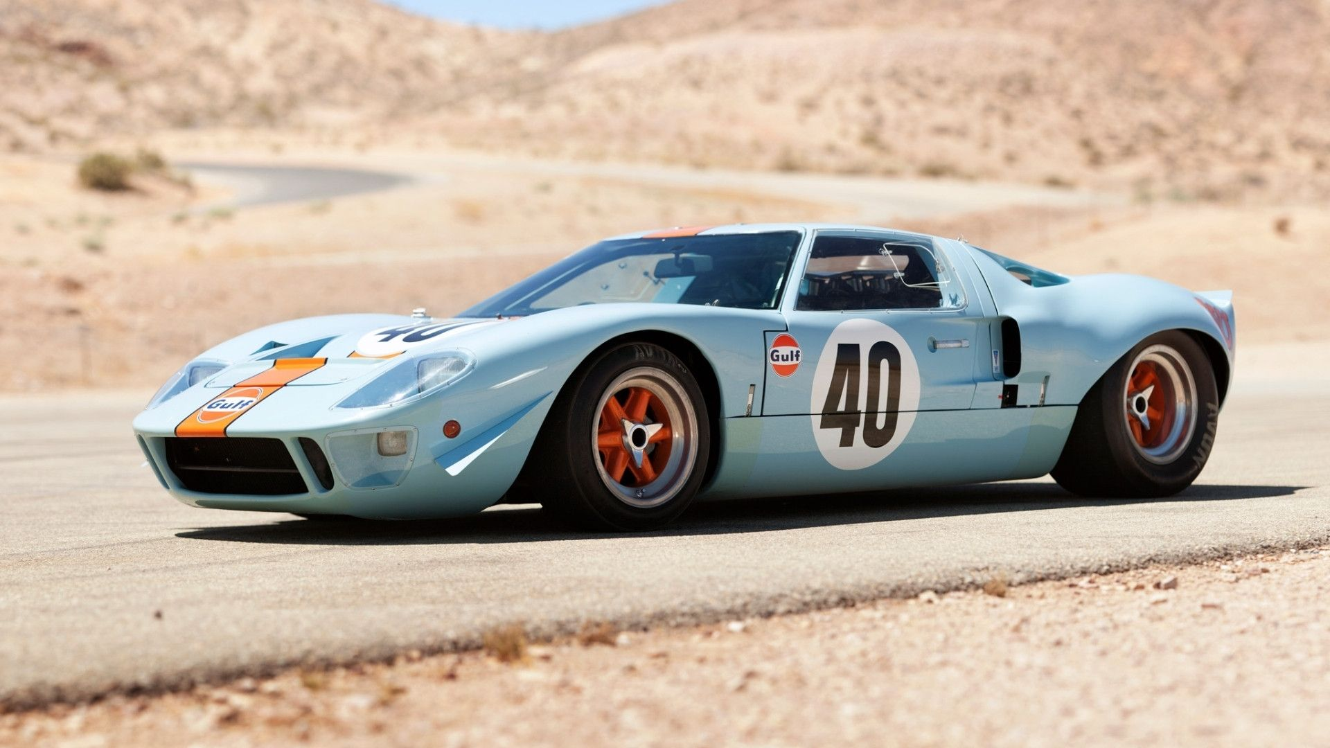 1966 Ford GT 40 #19