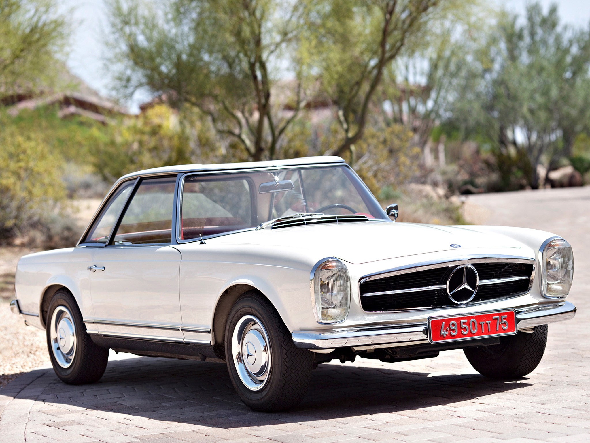 1966 Mercedes-Benz SL #16