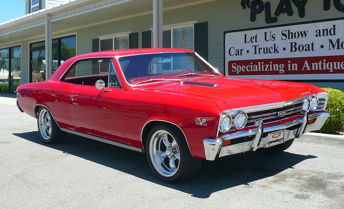 1967 Chevelle Ss396 In Red Old Supercars Really Are Artforms 1959 Oldsmobile Wiring Diagram