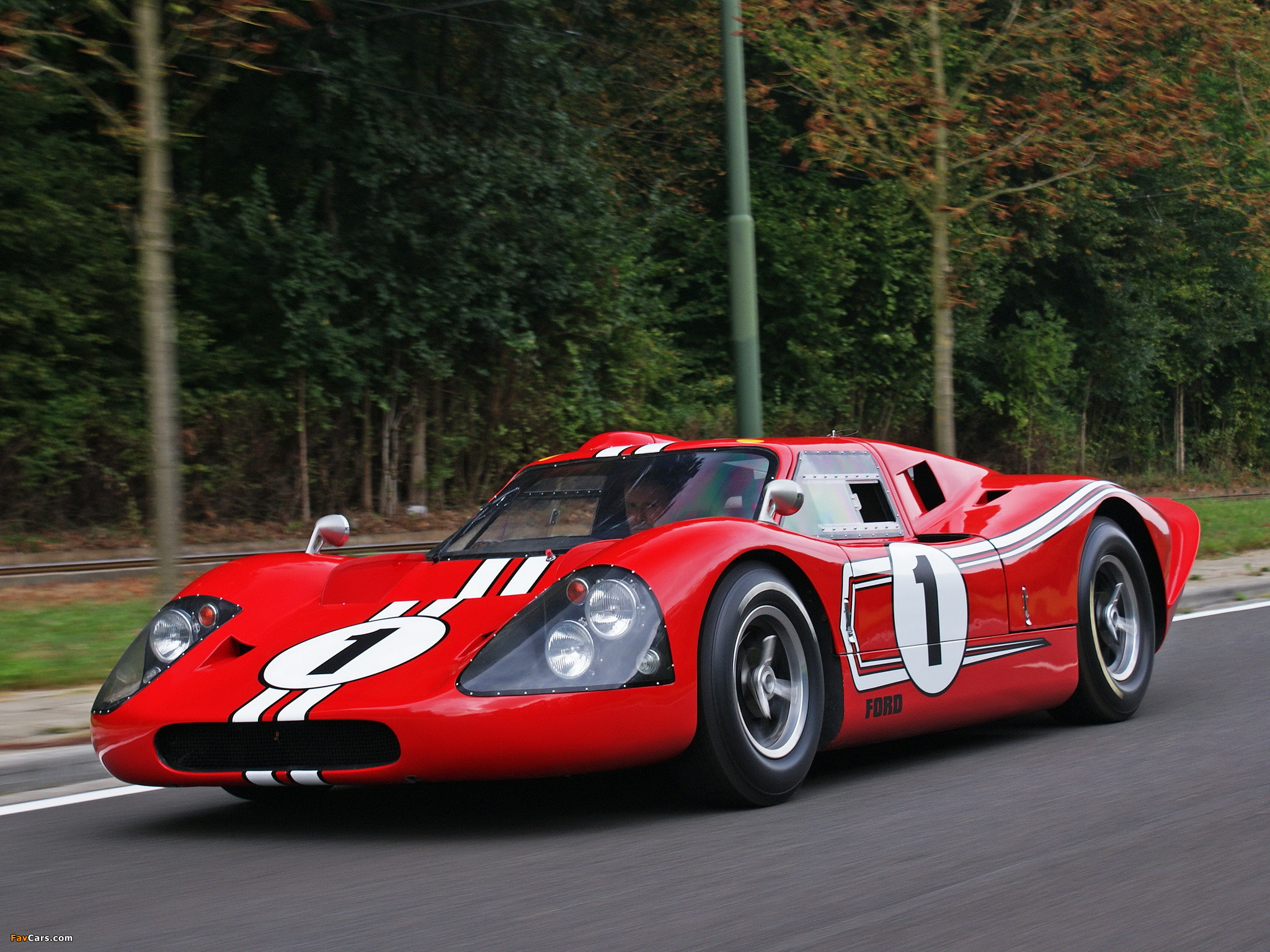 1967 Ford GT 40 #25