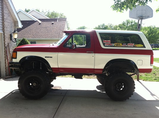 1990 Ford Bronco #14