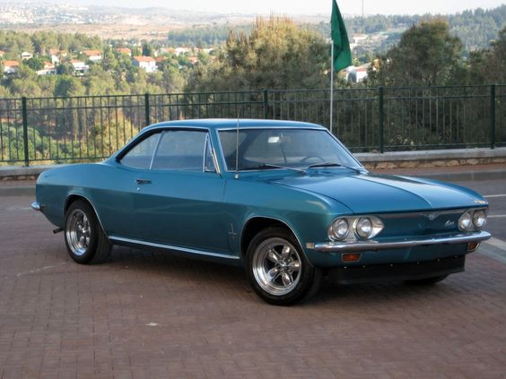 1968 Chevrolet Corvair #16