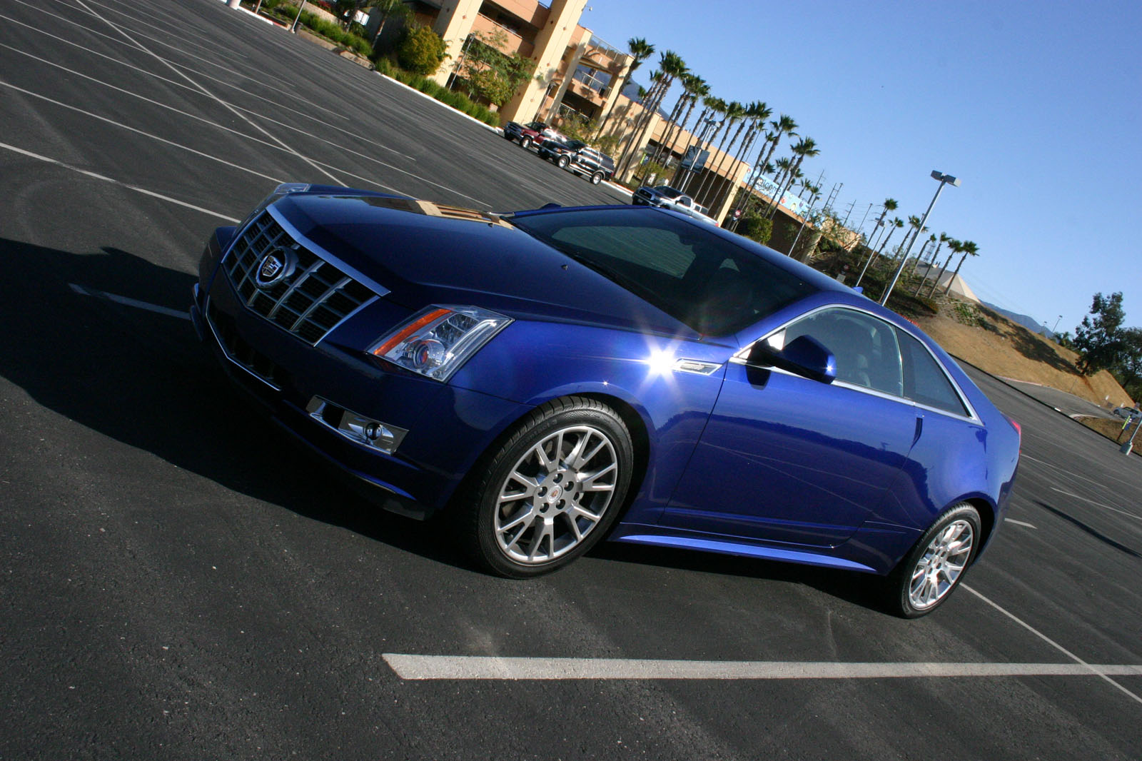 cadillac cts black coupe photo data raven exterior