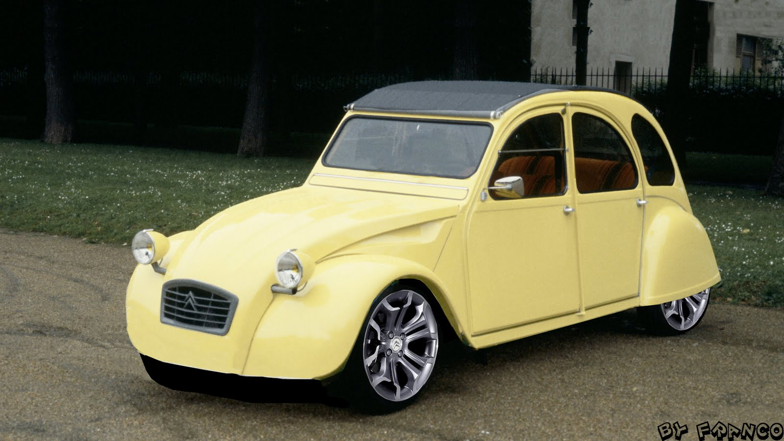 1969 citroen 2cv photos informations articles. Black Bedroom Furniture Sets. Home Design Ideas