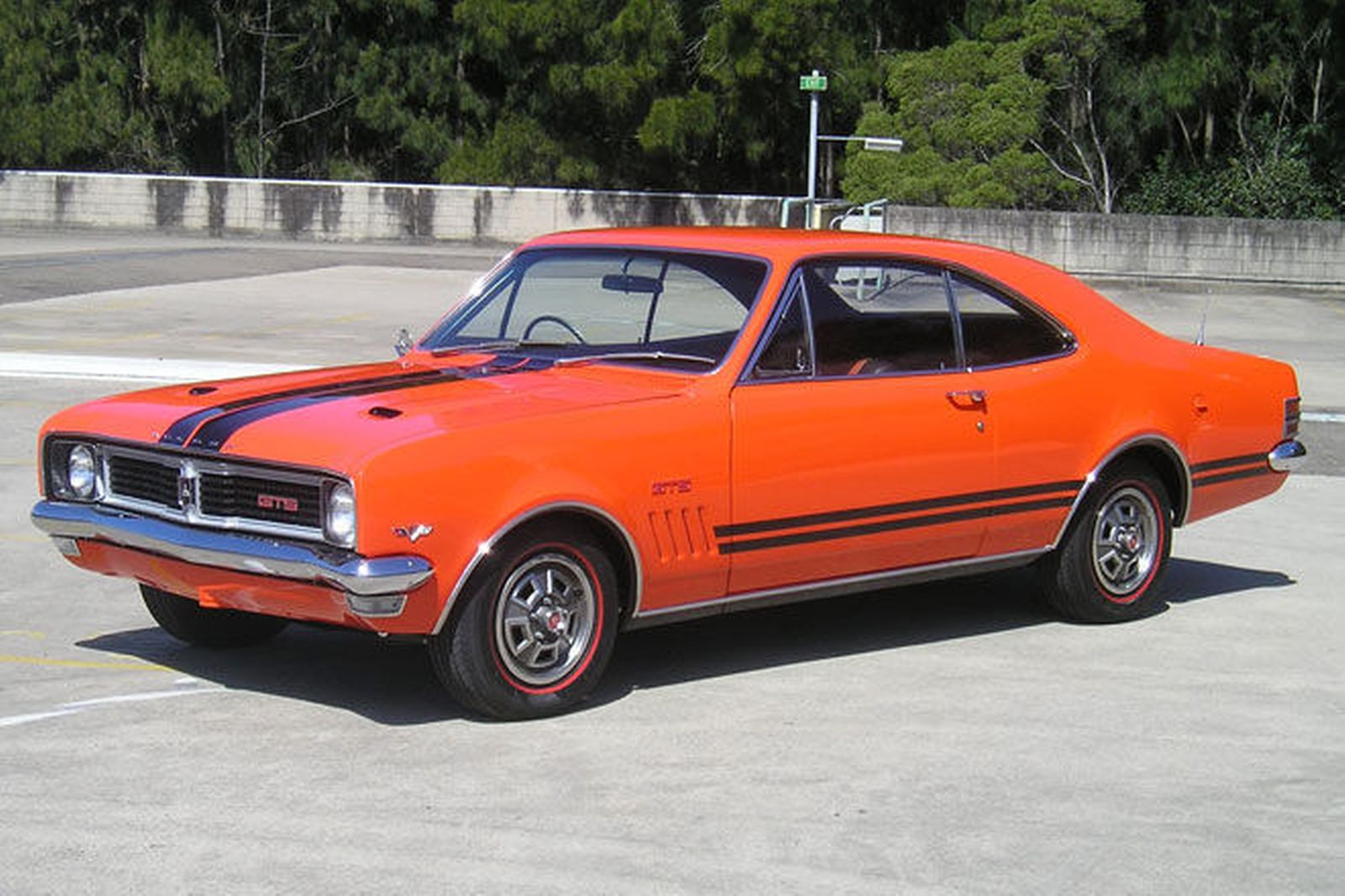 Ford Australian Muscle Car Sales