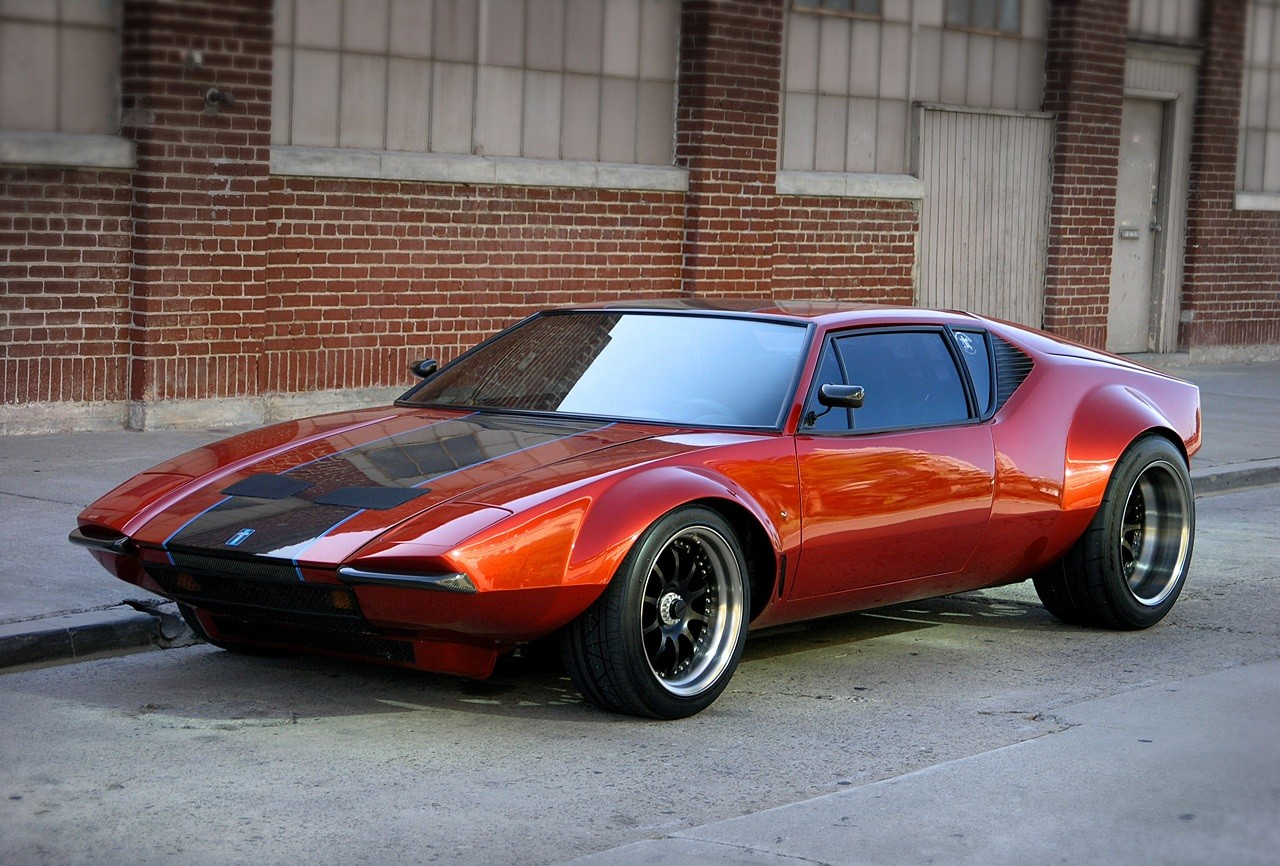 1970 de tomaso pantera photos informations articles. Black Bedroom Furniture Sets. Home Design Ideas