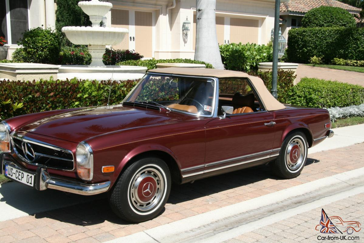 1970 mercedes benz sl photos informations articles. Black Bedroom Furniture Sets. Home Design Ideas