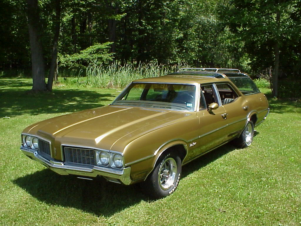 1970 Oldsmobile Vista Cruiser #22