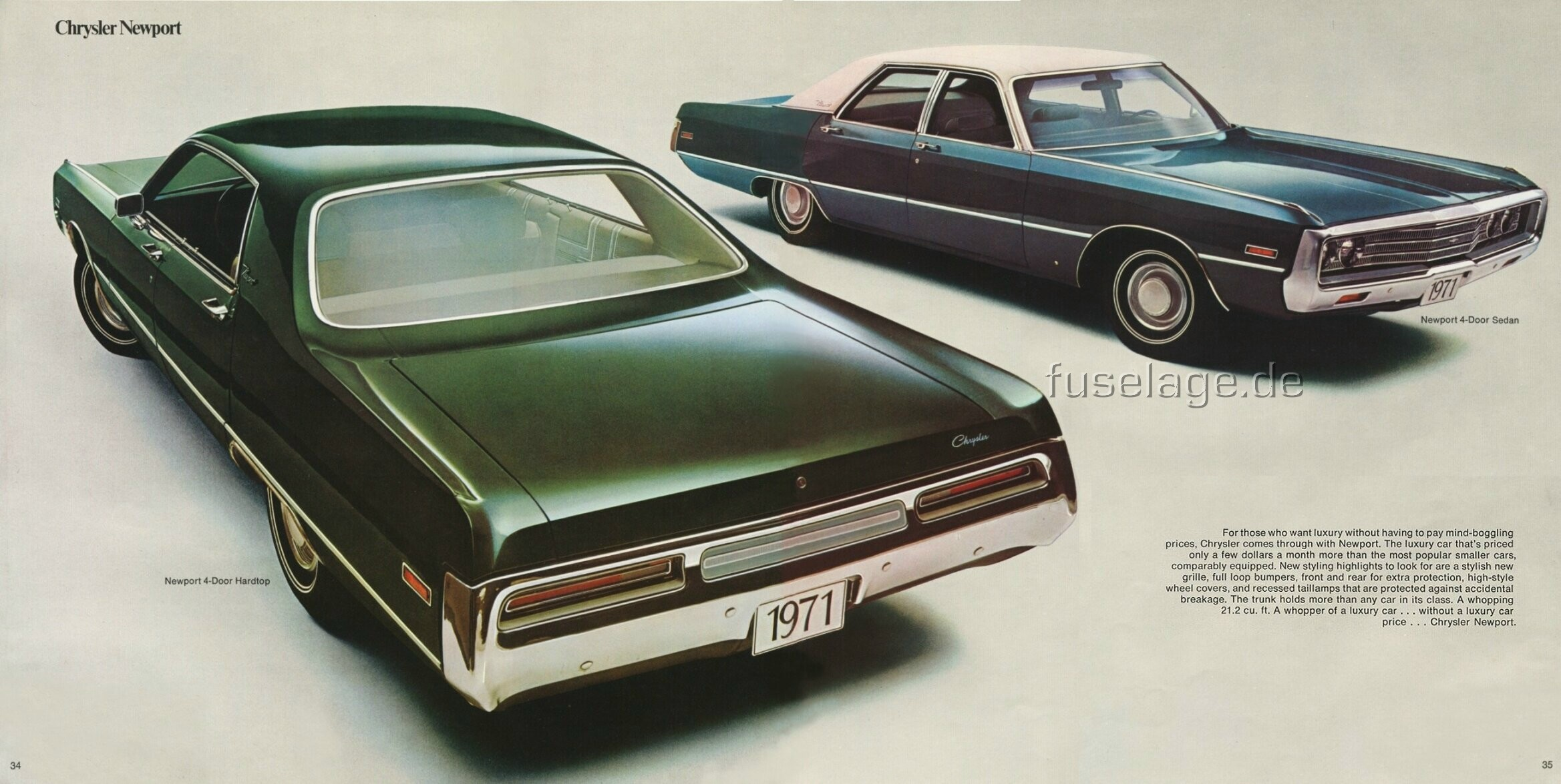 1971 Chrysler Newport #17