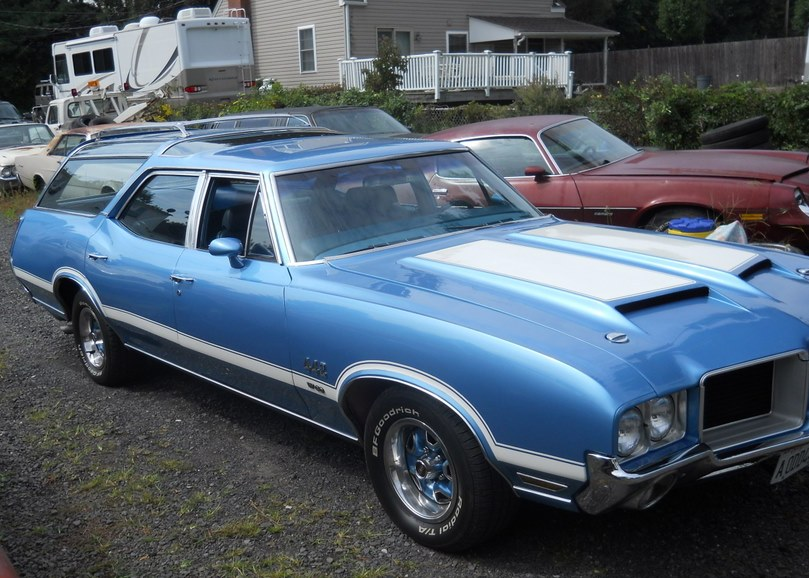 1971 Oldsmobile Vista Cruiser #20