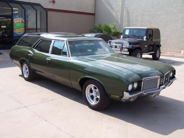 1971 Oldsmobile Vista Cruiser #19