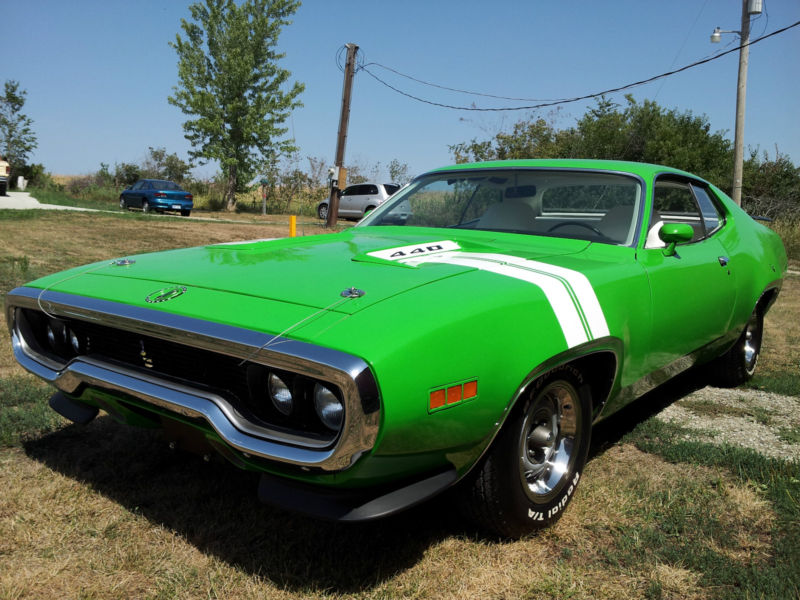 1971 Plymouth Road Runner #21
