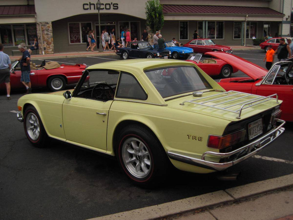 1971 Triumph TR6 Photos, Informations, Articles - BestCarMag.com