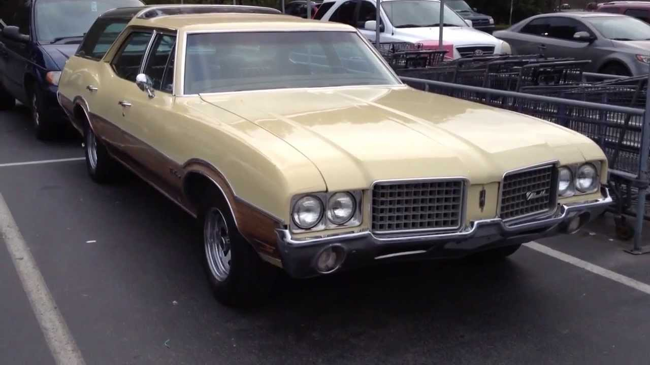 1972 Oldsmobile Vista Cruiser #19