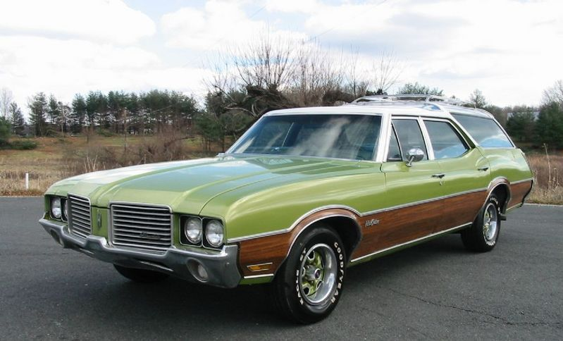 1972 Oldsmobile Vista Cruiser #21