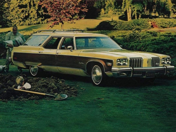 1974 Oldsmobile Vista Cruiser #17