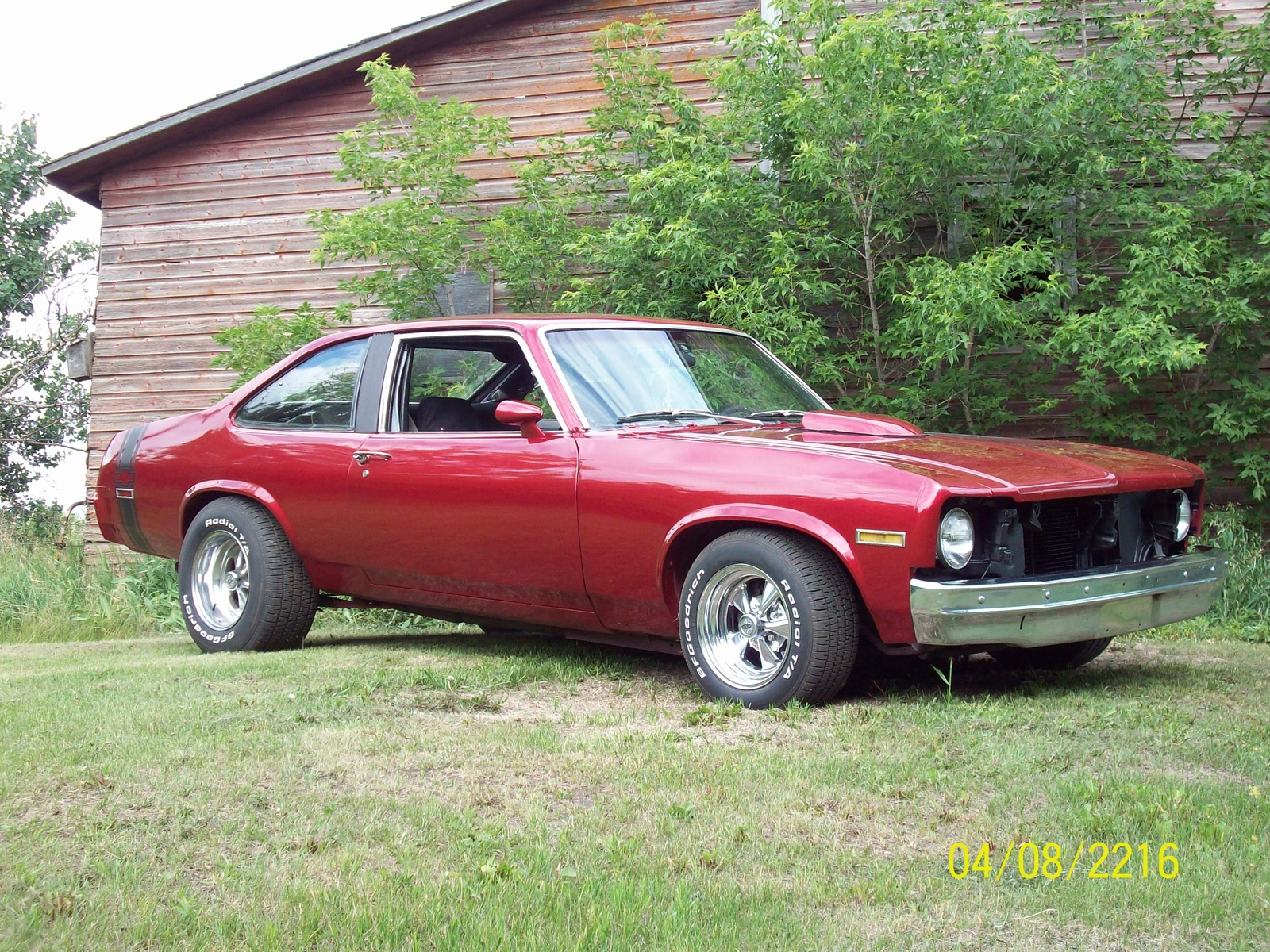 1975 Chevrolet Nova Photos Informations Articles 68 Mustang Hood Turn Signal Wiring Harness 20