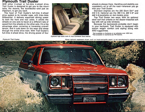 1977 Plymouth Trail Duster #15