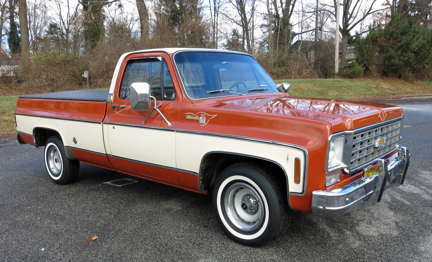 1976 Chevrolet Pickup Photos Informations Articles Chevy 4x4 3 4 Ton 24